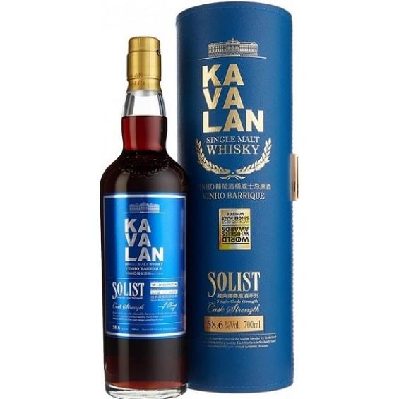 Whisky Solist Vinho Barrique 0.7L, Kavalan