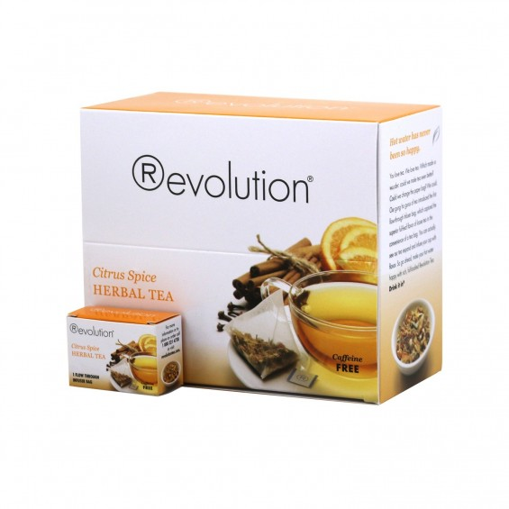 Citrus spice herbal / 30 tea bags, Revolution