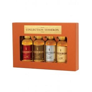 Cognac Mini Set 4 x 5cl, Tesseron