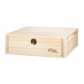 Wooden Gift box for 2 bottles