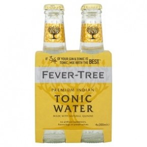Fever Tree - Indian Tonic 200 ml (4-pack)