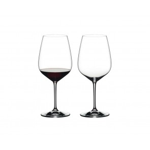 Cabernet Sauvignon - set of 2 glasses, Heart to Heart